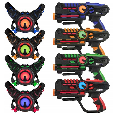 ArmoGear laser tag set with vests