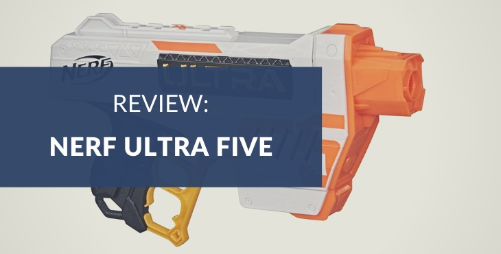Nerf Ultra Five Blaster review