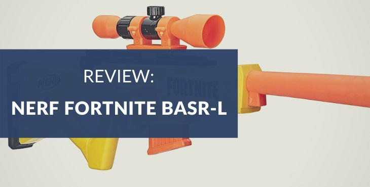 Nerf Fortnite BASR-L Blaster Review