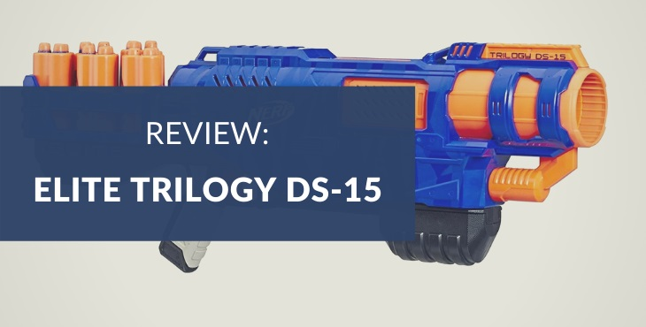 Nerf N-Strike Elite Trilogy DS-15 review