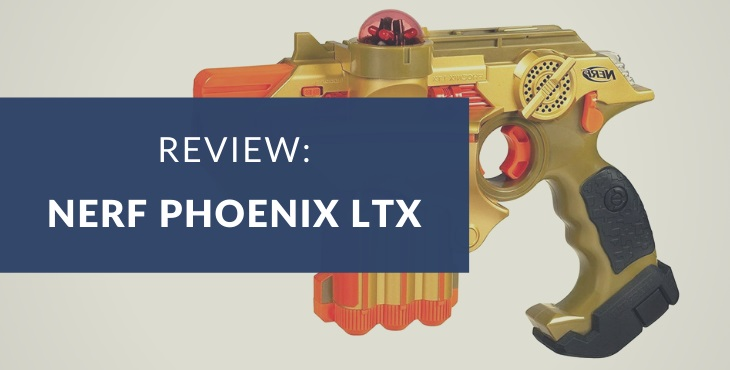Nerf Lazer Tag Phoenix LTX Tagger 2-Pack review