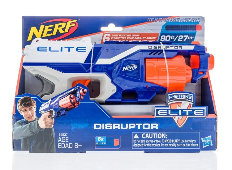Nerf gun in box