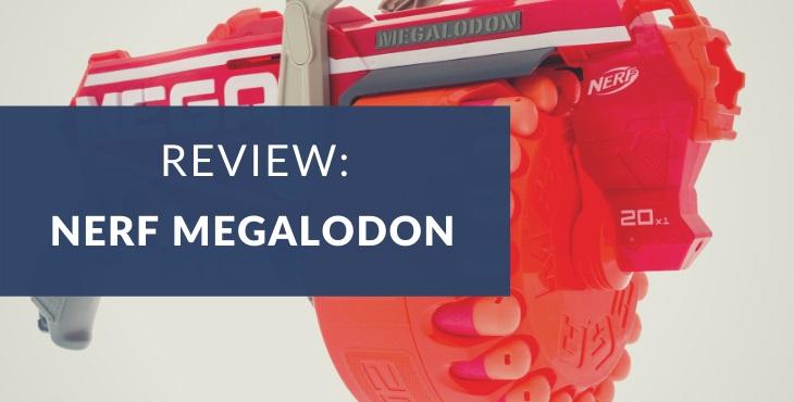 Nerf N-Strike Mega Megalodon review