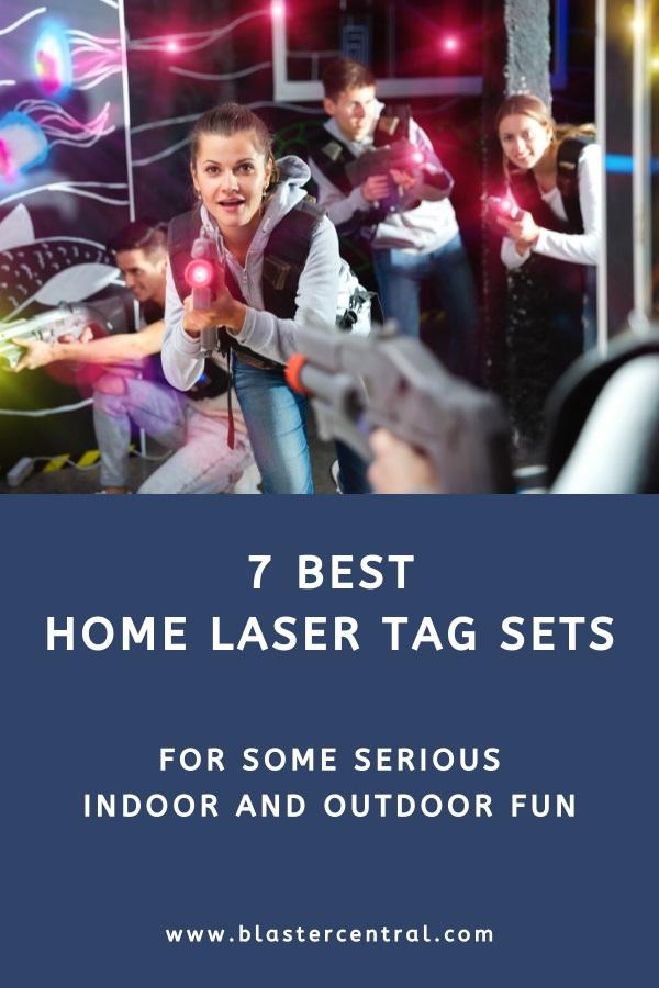 Home laser tag guns and sets