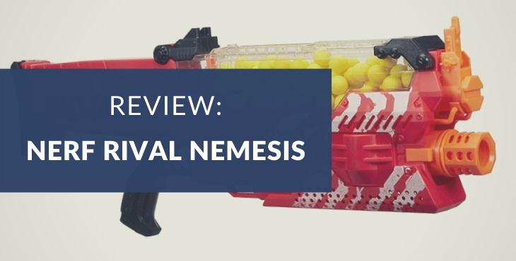 Nerf Rival Nemesis MXVII-10K Review