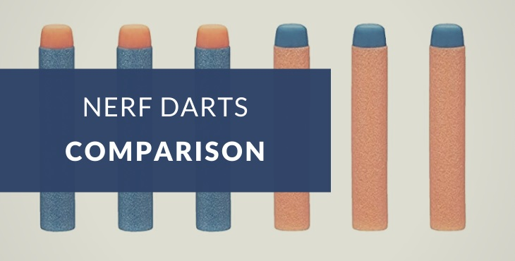 Types of Nerf darts explained